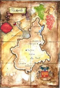 italian maps_Piemonte