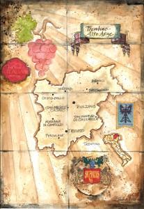 italian maps_Trentino