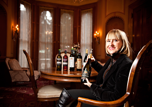 CHRISTINE SKANDIS, FOUNDER OF SKANDIS FINE WINES - ERIK HOLLADAY